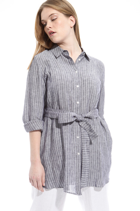 Shirt with waist belt Intrend