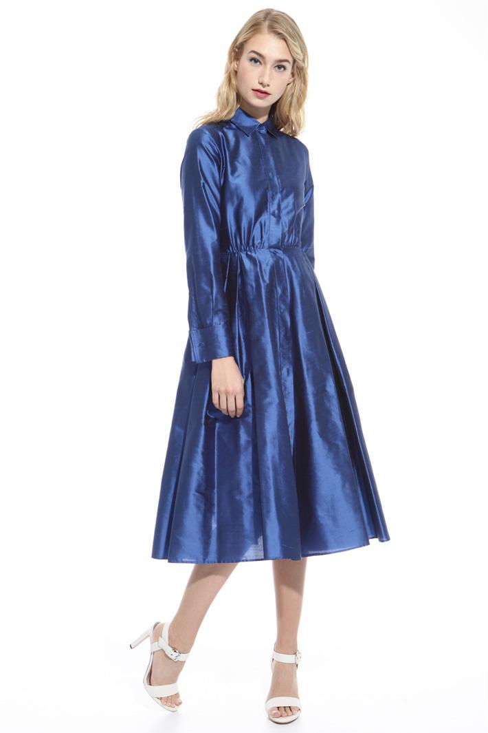 Shantung princesse-line dress Intrend