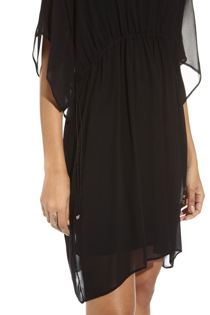 Fluid georgette dress Intrend