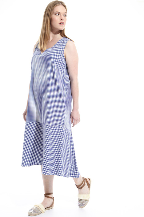 Long cotton blend dress Intrend