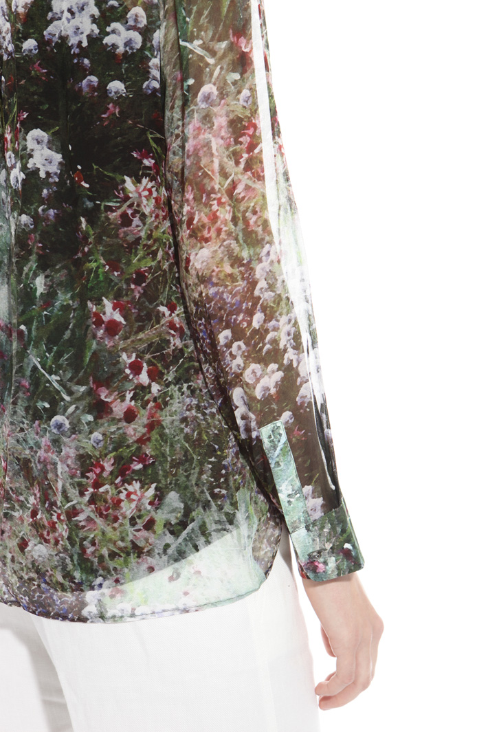 Silk georgette shirt Intrend