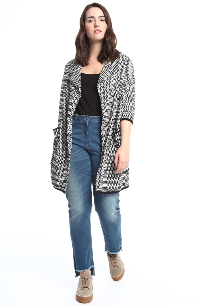 Knitted coat Intrend