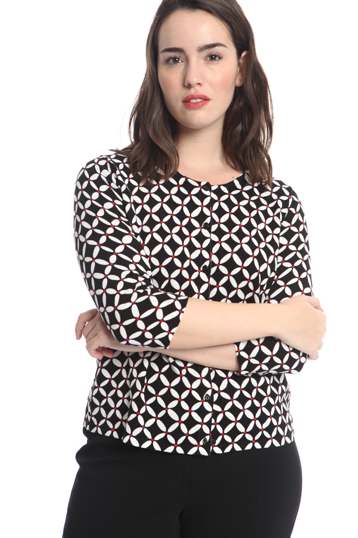 Viscose and cotton cardigan Intrend