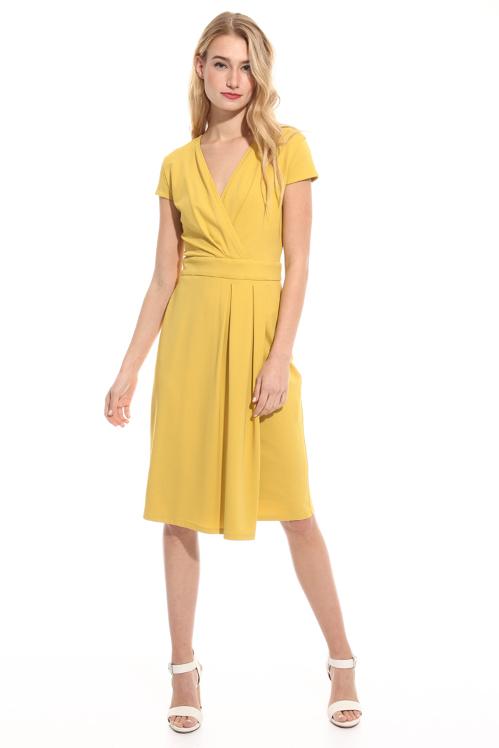 Jersey crepe dress Intrend