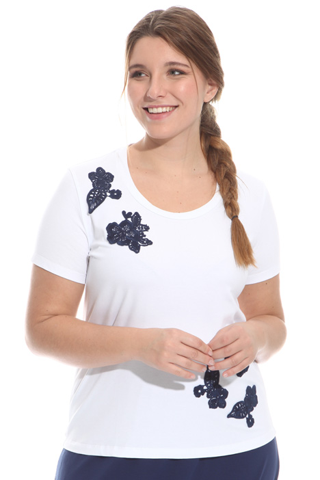 T-shirt in jersey con patte Intrend