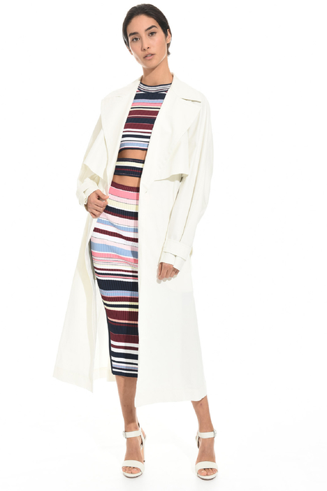 Oversized gabardine trench Intrend