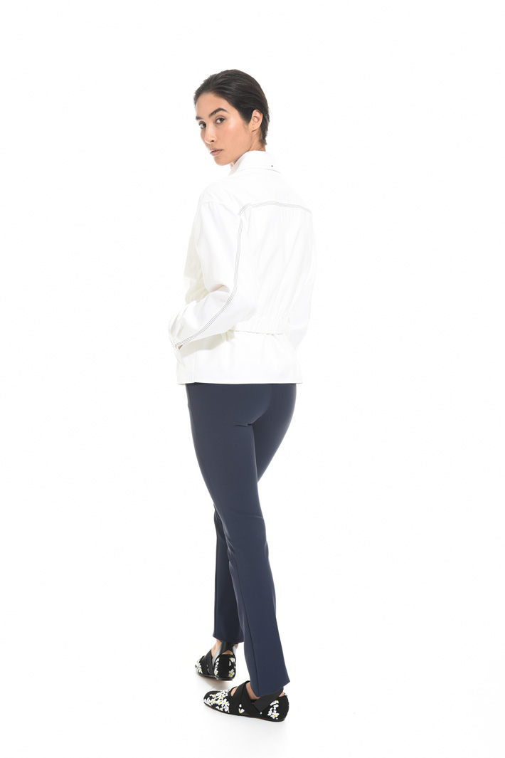 Jacket in compact twill Intrend