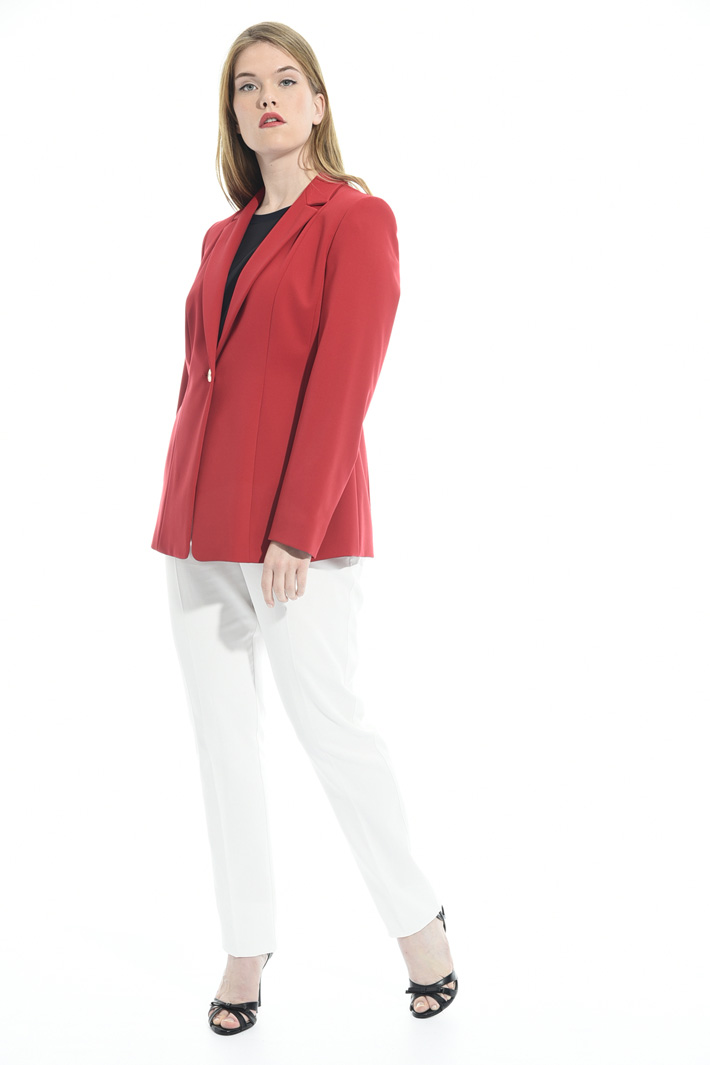 Blazer in jersey crepe Intrend