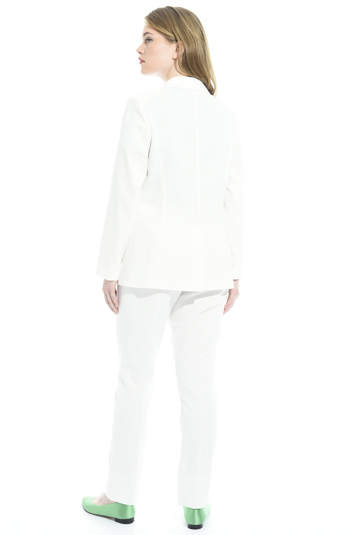 Cotton crepe jacket Intrend