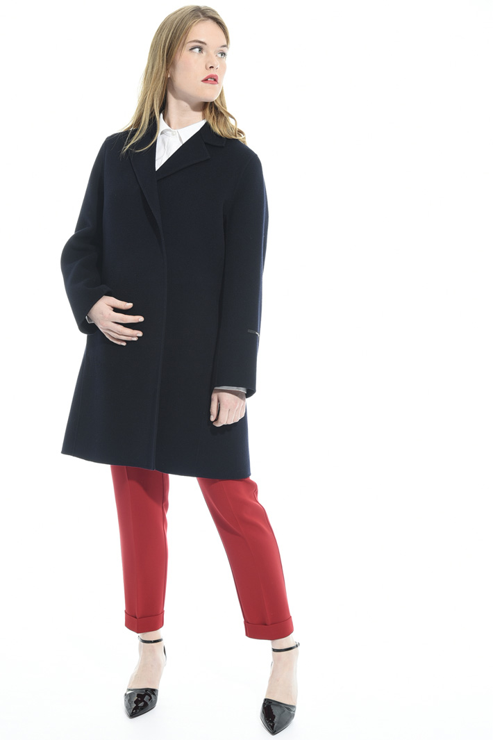 Double-layer wool coat Intrend