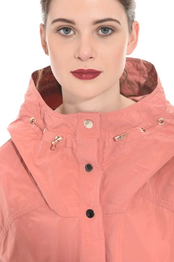 Velvet-effect jacket Intrend