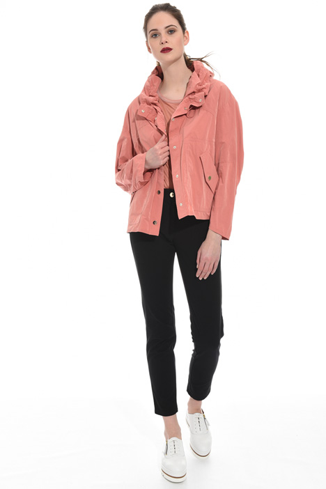 Velvet-effect jacket Intrend