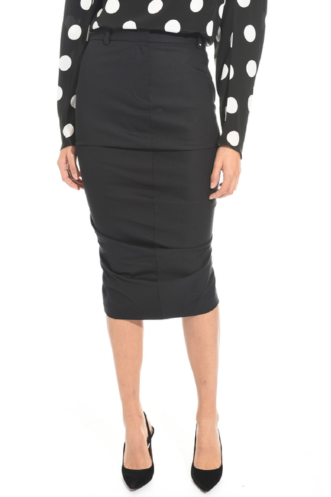 Draped pencil skirt Intrend
