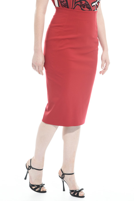 Jersey pencil skirt Intrend