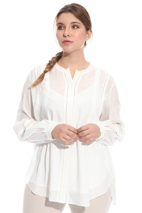 Sablé shirt with embroidery Intrend