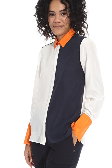 Camicia in seta habotai Intrend
