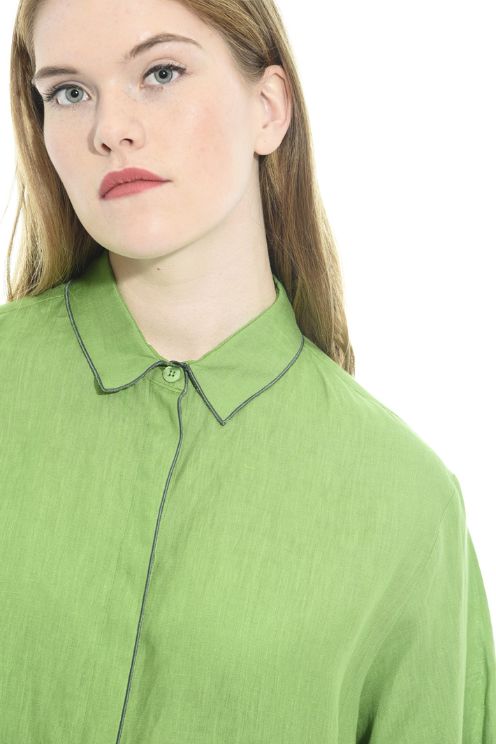 Shirt with contrasting finish Intrend