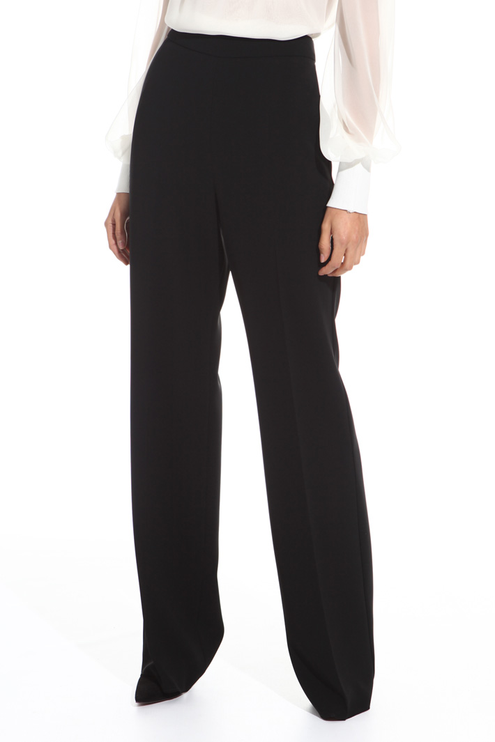 Triacetate long trousers  Intrend