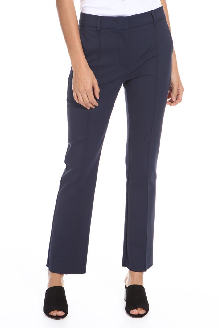 Pantalone in tela stretch Intrend