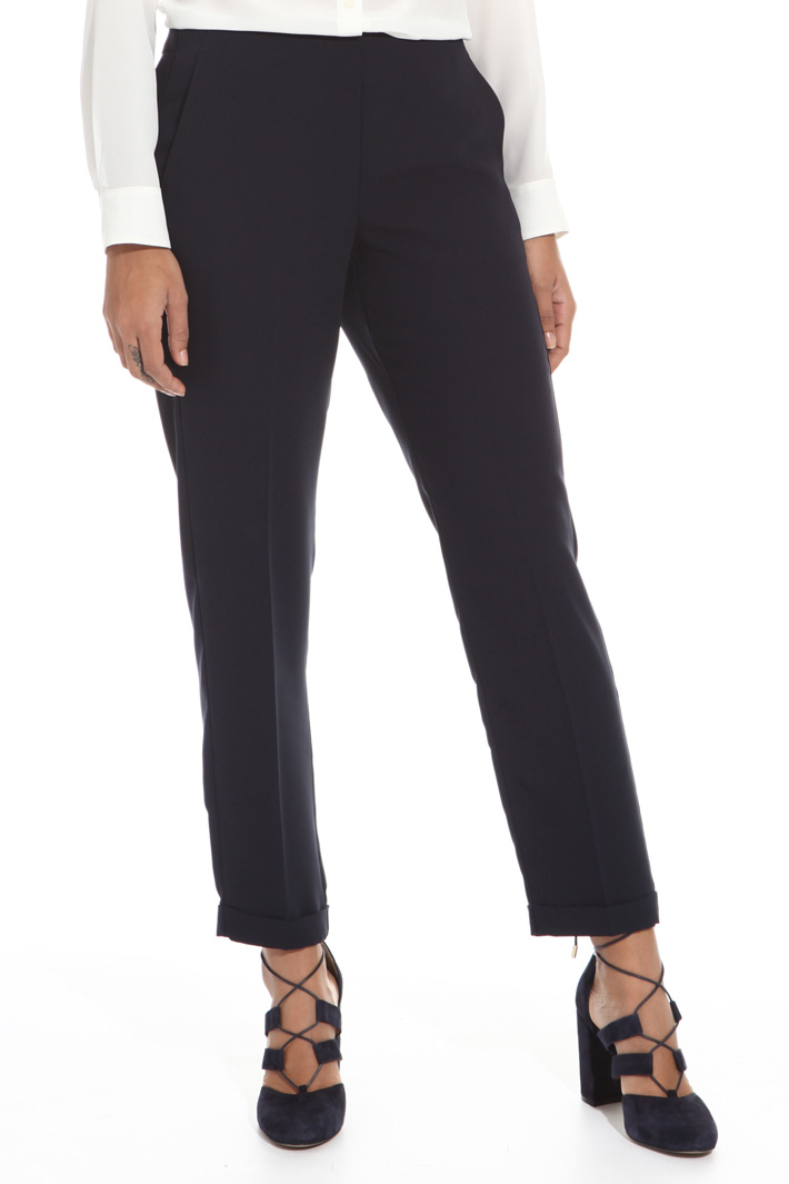 Enver satin trousers Intrend
