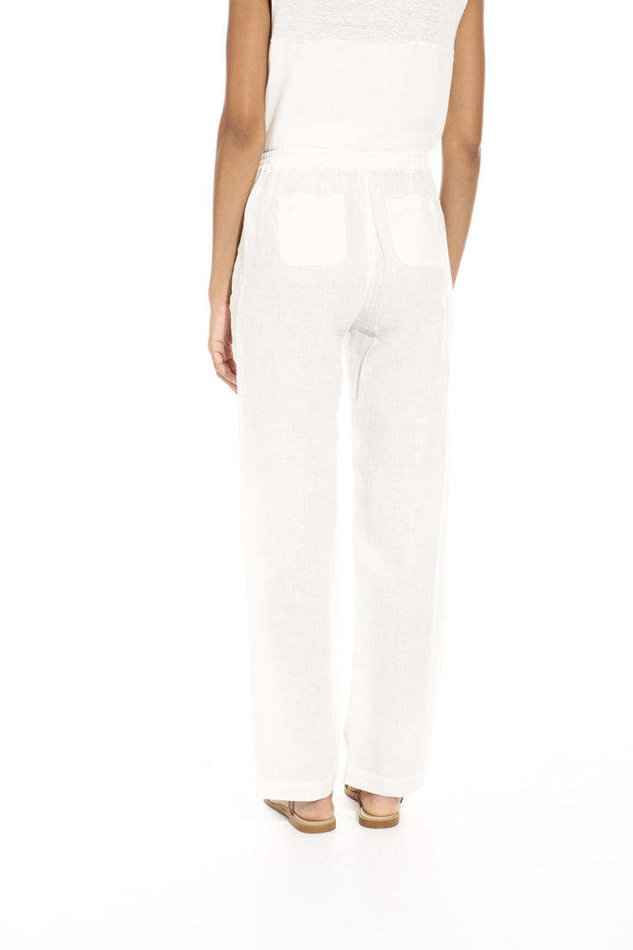 Lightweight linen trousers Intrend