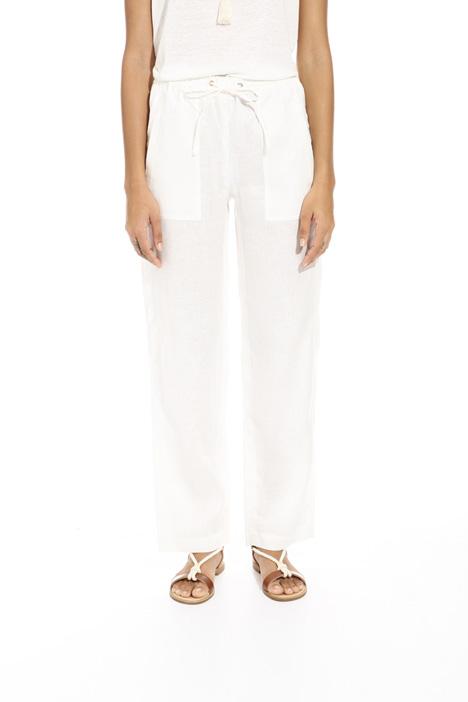 Pantalone leggero in lino Intrend
