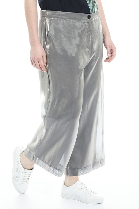 Cropped trousers in organza Intrend