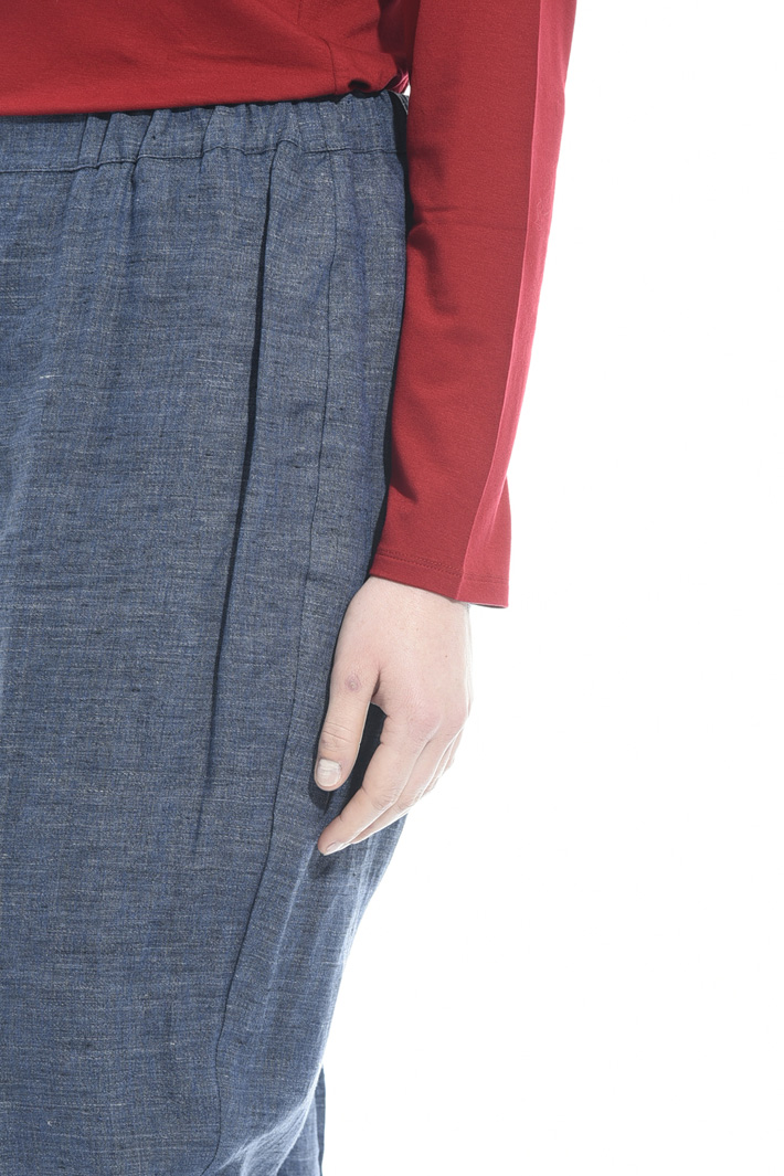 Linen cigarette trousers Intrend