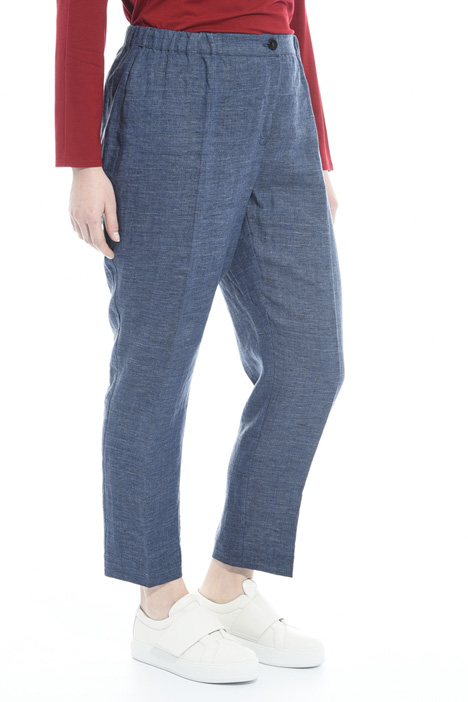 Linen cigarette trousers Intrend