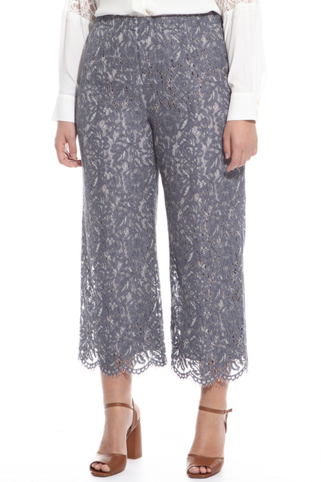 Lace cropped trousers  Intrend