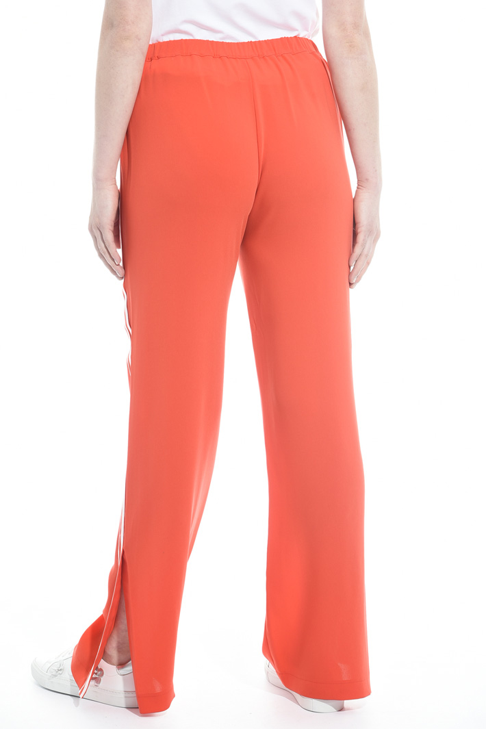 Fluid triacetate trousers Intrend