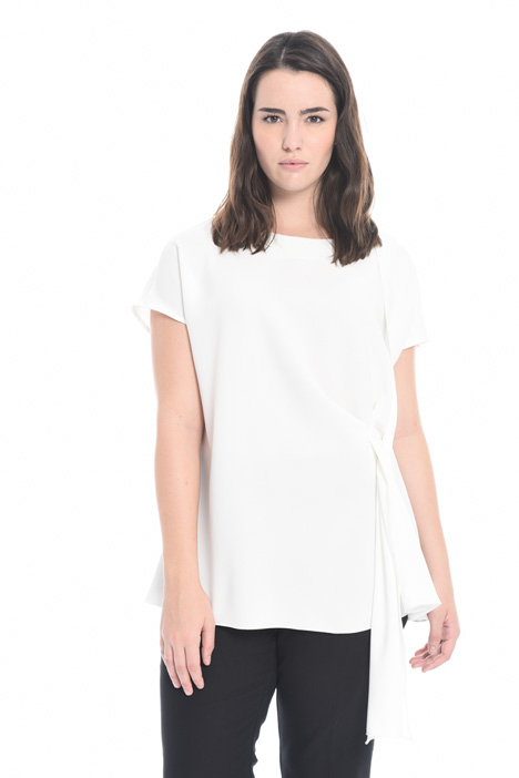 Triacetate top with knot  Intrend