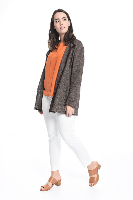 Cotton bouclé jacket  Intrend