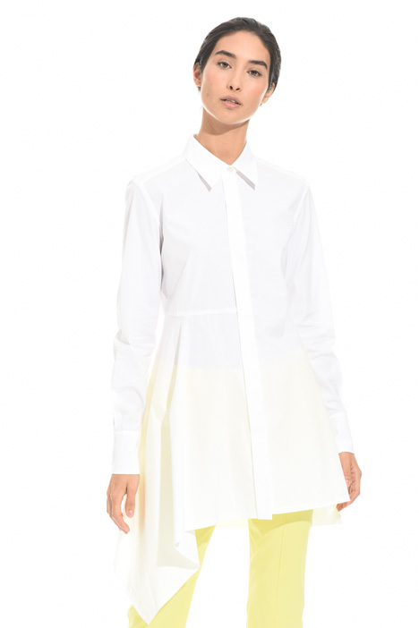 Long poplin shirt Intrend