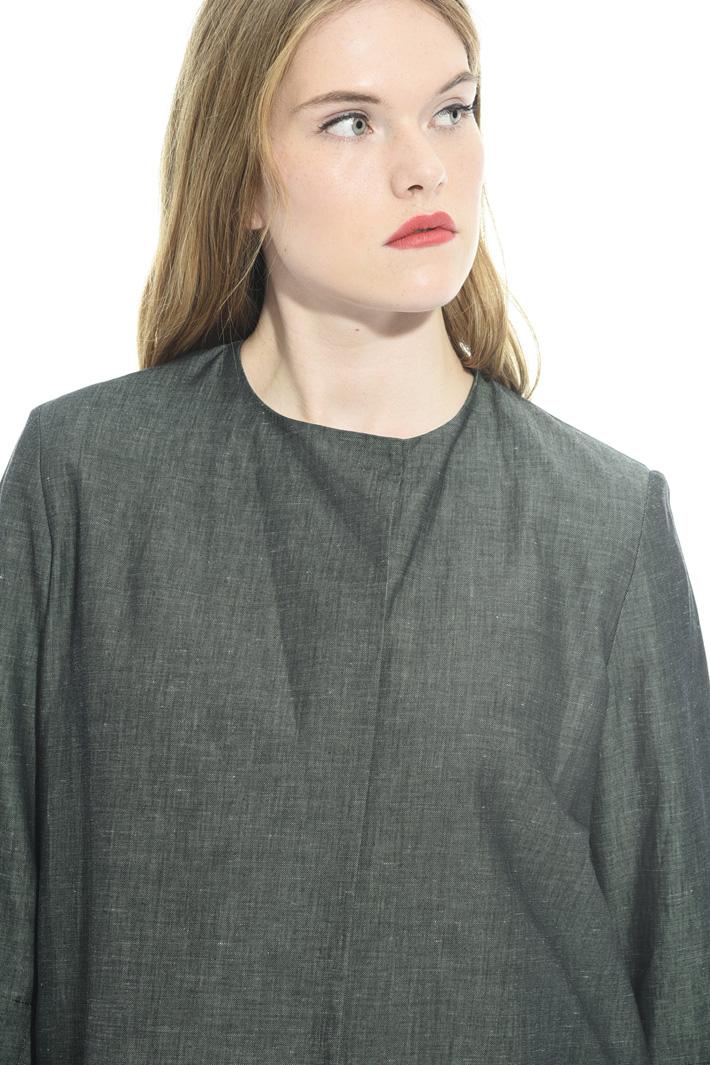 Cotton fil-à-fil jacket Intrend