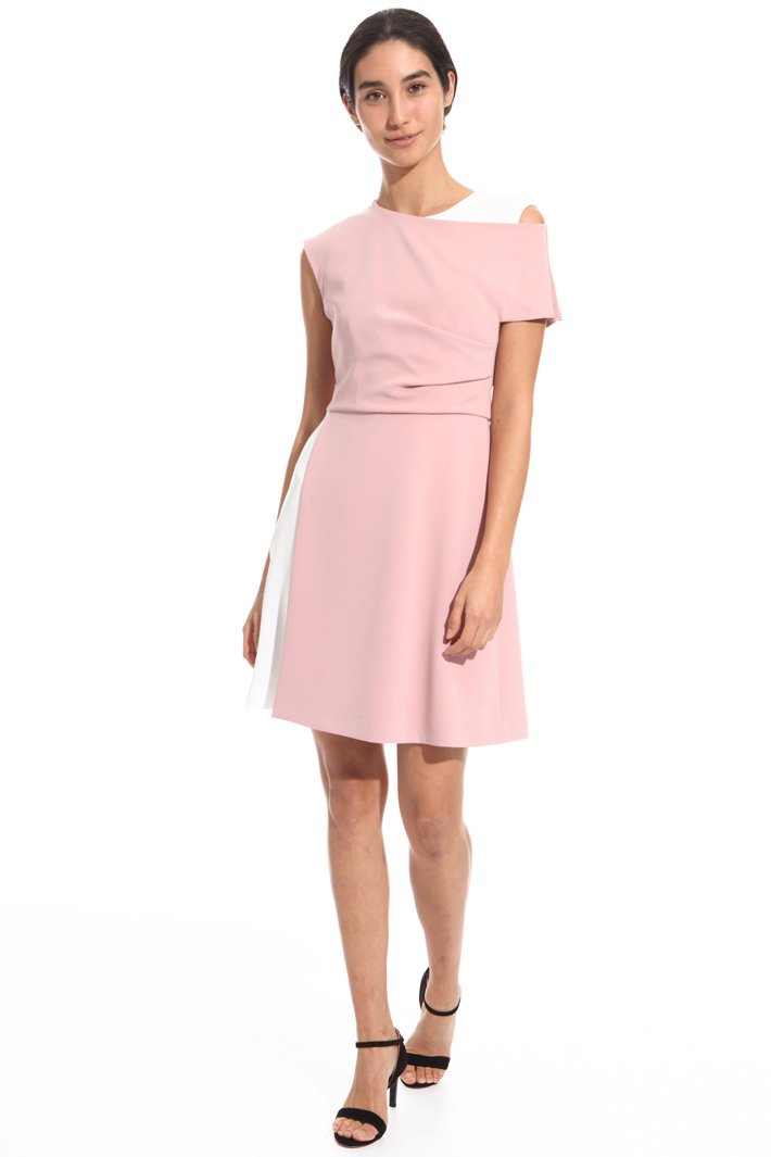 Dress with contrasting insert  Intrend