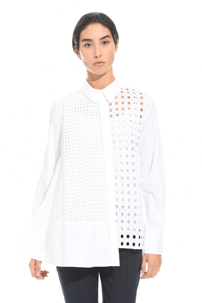 Broderie anglaise shirt Intrend