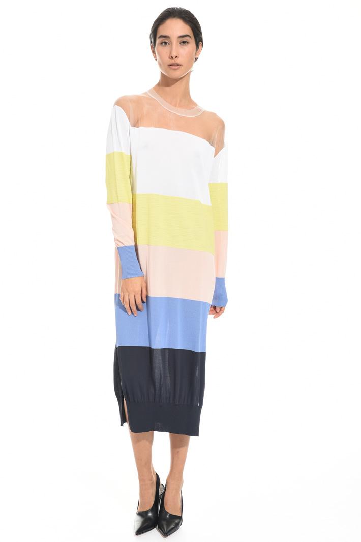 Knit longuette dress Intrend