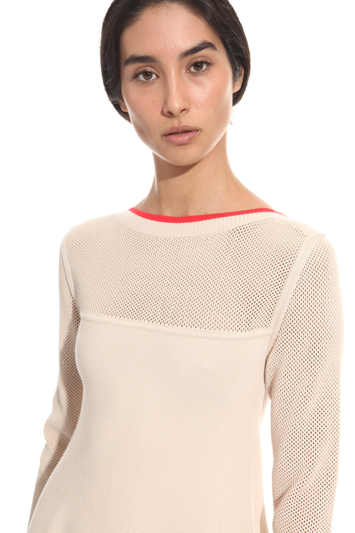 Viscose knit dress Intrend