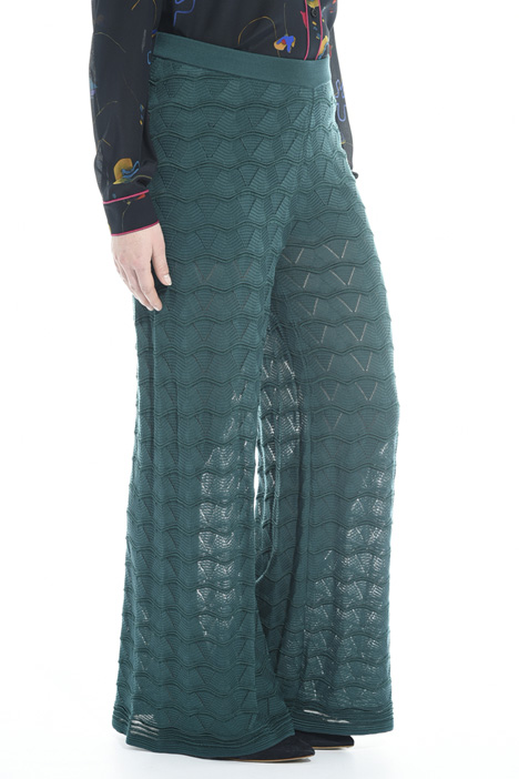 Knitted palazzo trousers Intrend