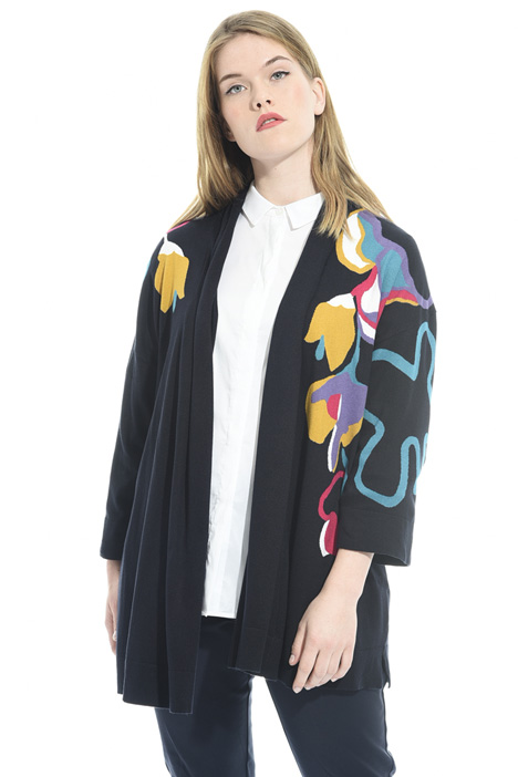 Cardigan with floral motif Intrend