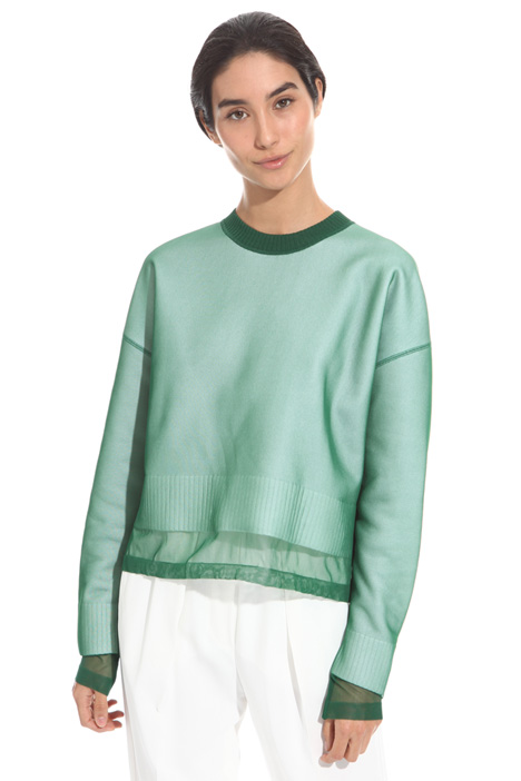 Covered sweater Intrend