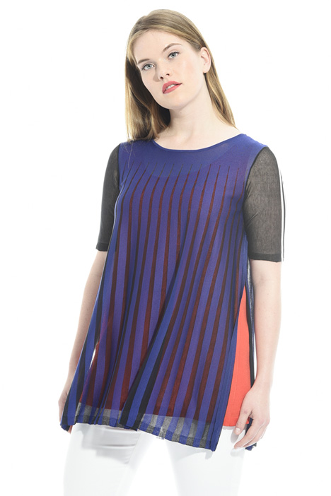 Crepe viscose tunic Intrend