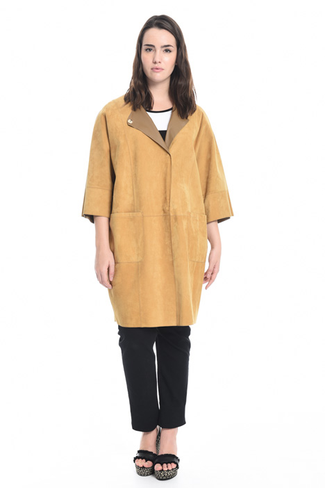 online store f4e3f ae44d Giacche in pelle - Colore: Giallo e Oro - Intrend