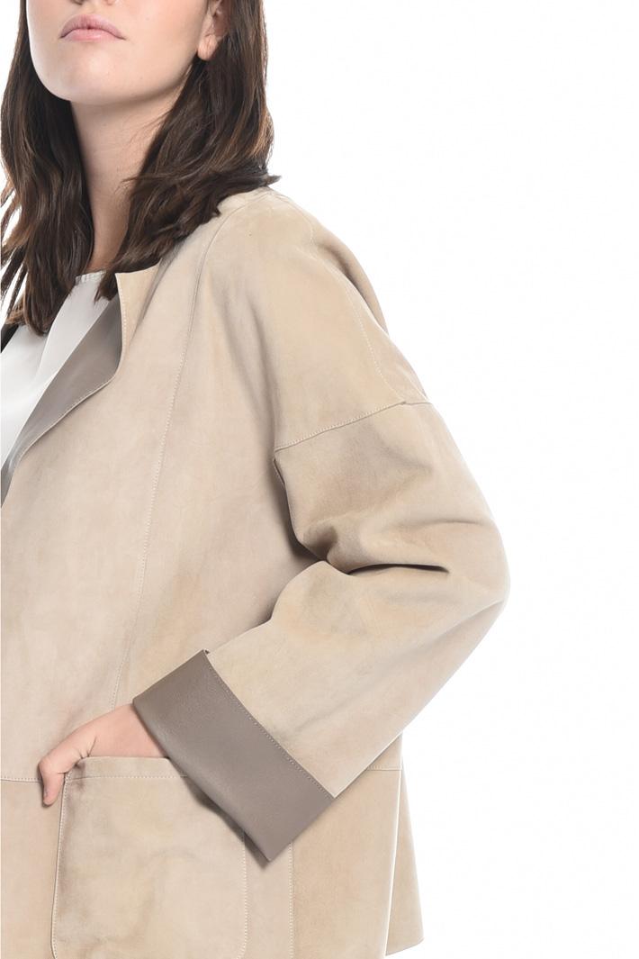 Suede jacket Intrend