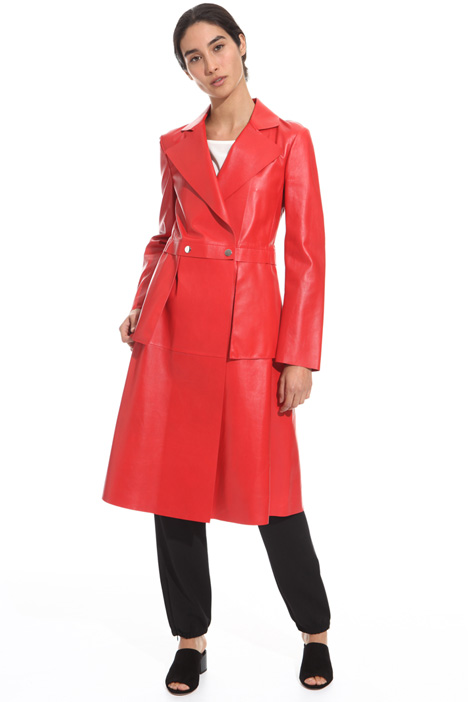 Nappa leather trench Intrend
