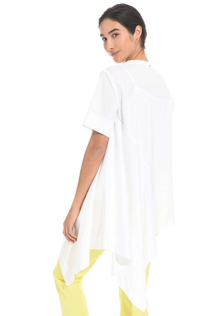 Asymmetrical hem tunic Intrend