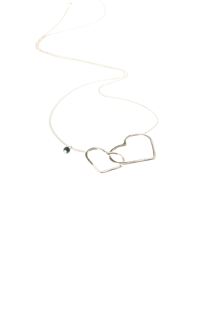 Crossed hearts necklace Intrend