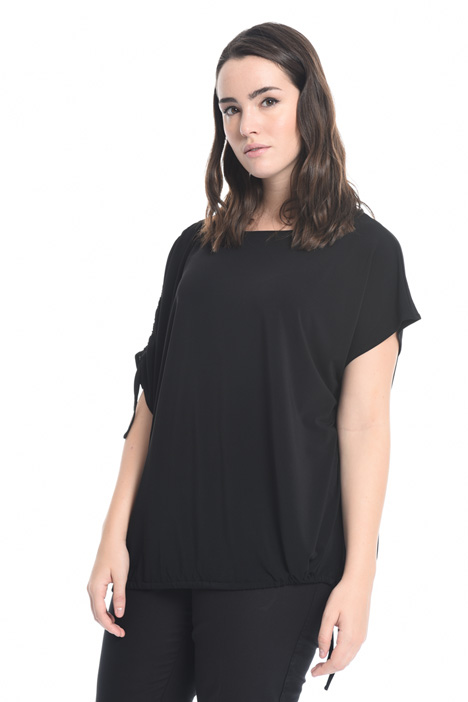 T-shirt in jersey crepe Intrend