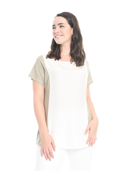 Linen and silk sweater Intrend